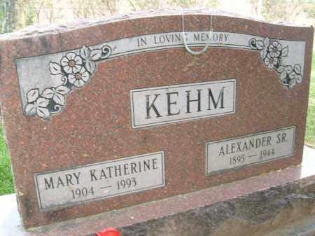 KEHM, MARY KATHERINE - Boulder County, Colorado | MARY KATHERINE KEHM - Colorado Gravestone Photos