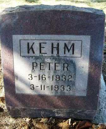 KEHM, PETER - Boulder County, Colorado | PETER KEHM - Colorado Gravestone Photos