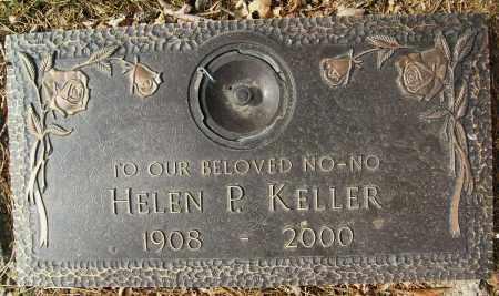 KELLER, HELEN P. - Boulder County, Colorado | HELEN P. KELLER - Colorado Gravestone Photos