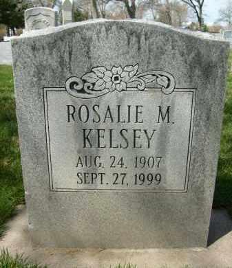 KELSEY, ROSALIE M. - Boulder County, Colorado | ROSALIE M. KELSEY - Colorado Gravestone Photos