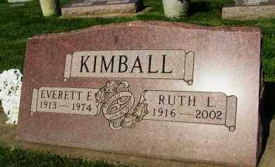 KIMBALL, RUTH L. - Boulder County, Colorado | RUTH L. KIMBALL - Colorado Gravestone Photos