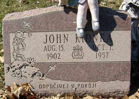 KIONKA, JOHN - Boulder County, Colorado   JOHN KIONKA - Colorado Gravestone Photos