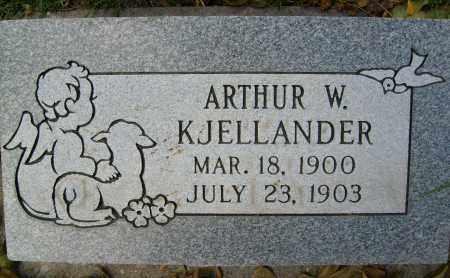 KJELLANDER, ARTHUR W. - Boulder County, Colorado | ARTHUR W. KJELLANDER - Colorado Gravestone Photos