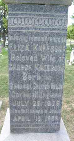 KNEEBONE, ELIZA - Boulder County, Colorado | ELIZA KNEEBONE - Colorado Gravestone Photos