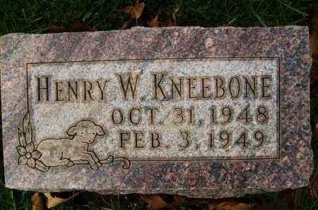 KNEEBONE, HENRY W. - Boulder County, Colorado | HENRY W. KNEEBONE - Colorado Gravestone Photos