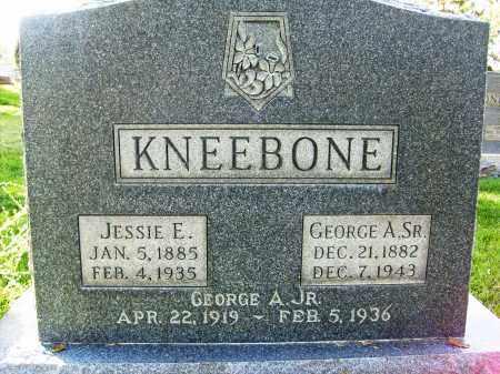 KNEEBONE, GEORGE A., JR. - Boulder County, Colorado | GEORGE A., JR. KNEEBONE - Colorado Gravestone Photos