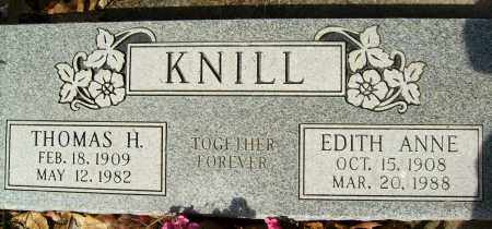 KNILL, EDITH ANNE - Boulder County, Colorado | EDITH ANNE KNILL - Colorado Gravestone Photos