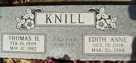 KNILL, THOMAS H. - Boulder County, Colorado | THOMAS H. KNILL - Colorado Gravestone Photos