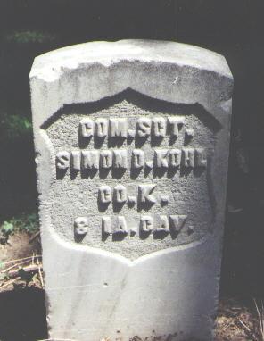 KOHL, SIMON D. - Boulder County, Colorado | SIMON D. KOHL - Colorado Gravestone Photos
