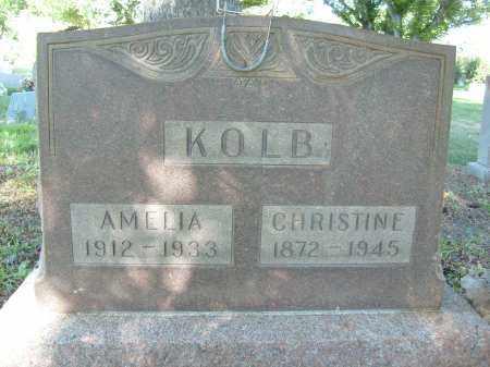 KOLB, CHRISTINE - Boulder County, Colorado | CHRISTINE KOLB - Colorado Gravestone Photos