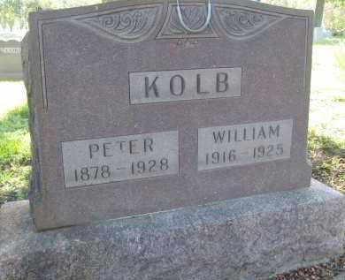 KOLB, WILLIAM - Boulder County, Colorado   WILLIAM KOLB - Colorado Gravestone Photos