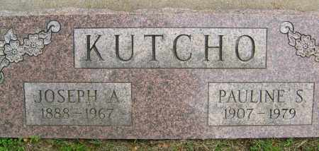 KUTCHO, JOSEPH A. - Boulder County, Colorado | JOSEPH A. KUTCHO - Colorado Gravestone Photos
