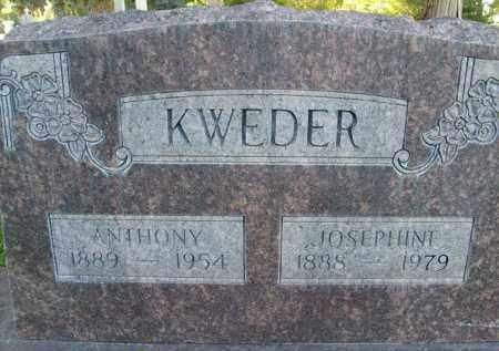 KWEDER, JOSEPHINE - Boulder County, Colorado | JOSEPHINE KWEDER - Colorado Gravestone Photos