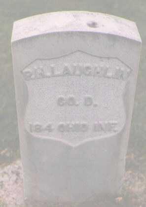 LAUGHLIN, P. H. - Boulder County, Colorado   P. H. LAUGHLIN - Colorado Gravestone Photos