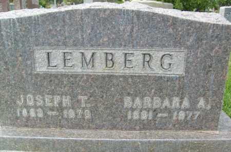 LEMBERG, BARBARA A. - Boulder County, Colorado | BARBARA A. LEMBERG - Colorado Gravestone Photos