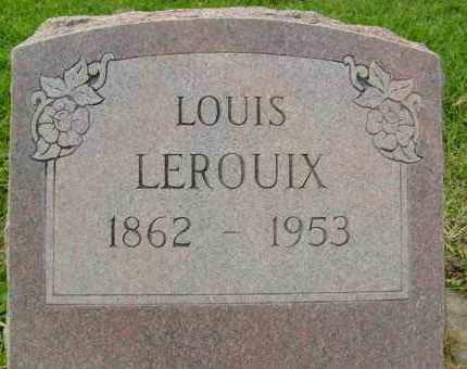 LEROUIX, LOUIS - Boulder County, Colorado | LOUIS LEROUIX - Colorado Gravestone Photos