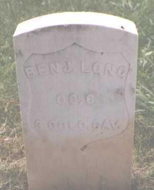 LONG, BENJAMIN - Boulder County, Colorado | BENJAMIN LONG - Colorado Gravestone Photos