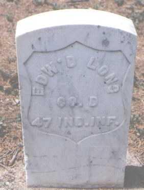 LONG, EDWARD - Boulder County, Colorado | EDWARD LONG - Colorado Gravestone Photos