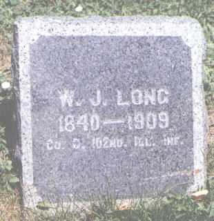 LONG, W. J. - Boulder County, Colorado | W. J. LONG - Colorado Gravestone Photos