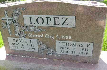 LOPEZ, THOMAS F. - Boulder County, Colorado | THOMAS F. LOPEZ - Colorado Gravestone Photos