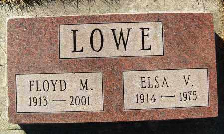 LOWE, ELSA V. - Boulder County, Colorado | ELSA V. LOWE - Colorado Gravestone Photos