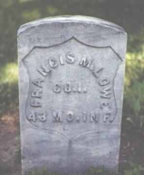 LOWE, FRANCIS M. - Boulder County, Colorado   FRANCIS M. LOWE - Colorado Gravestone Photos