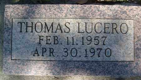 LUCERO, THOMAS - Boulder County, Colorado   THOMAS LUCERO - Colorado Gravestone Photos