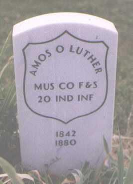 LUTHER, AMOS O. - Boulder County, Colorado | AMOS O. LUTHER - Colorado Gravestone Photos