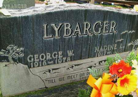 LYBARGER, NADINE L. - Boulder County, Colorado | NADINE L. LYBARGER - Colorado Gravestone Photos