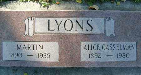 LYONS CASSELMAN, ALICE - Boulder County, Colorado | ALICE LYONS CASSELMAN - Colorado Gravestone Photos