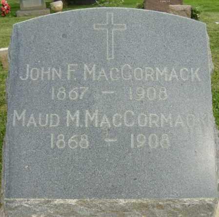 MACCORMACK, MAUD M. - Boulder County, Colorado   MAUD M. MACCORMACK - Colorado Gravestone Photos