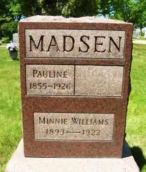 WILLIAMS, MINNIE - Boulder County, Colorado | MINNIE WILLIAMS - Colorado Gravestone Photos