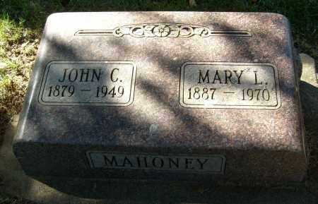 MAHONEY, MARY L. - Boulder County, Colorado | MARY L. MAHONEY - Colorado Gravestone Photos