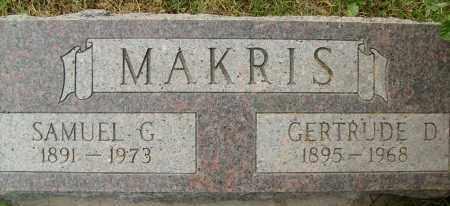 MAKRIS, GERTRUDE D. - Boulder County, Colorado | GERTRUDE D. MAKRIS - Colorado Gravestone Photos