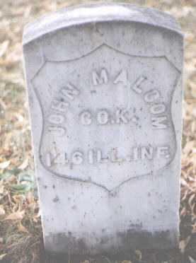 MALCOM, JOHN - Boulder County, Colorado   JOHN MALCOM - Colorado Gravestone Photos