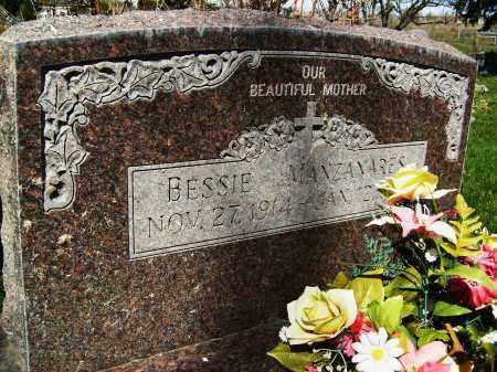 MANZANARES, BESSIE - Boulder County, Colorado | BESSIE MANZANARES - Colorado Gravestone Photos