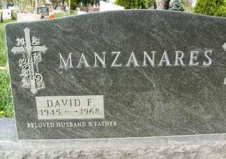 MANZANARES, DAVID F. - Boulder County, Colorado | DAVID F. MANZANARES - Colorado Gravestone Photos