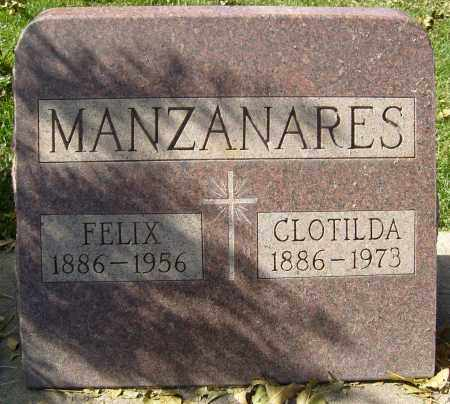 MANZANARES, CLOTILDA - Boulder County, Colorado | CLOTILDA MANZANARES - Colorado Gravestone Photos