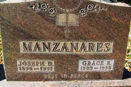 MANZANARES, GRACE R. - Boulder County, Colorado | GRACE R. MANZANARES - Colorado Gravestone Photos