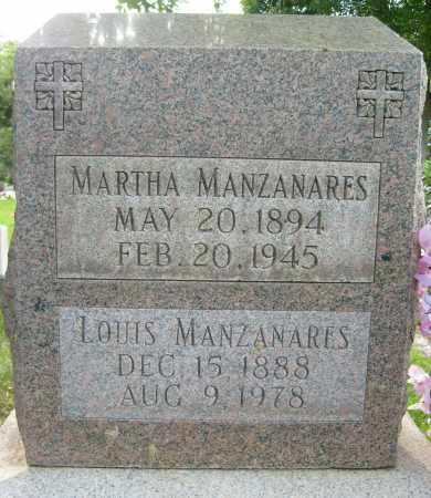 MANZANARES, MARTHA - Boulder County, Colorado | MARTHA MANZANARES - Colorado Gravestone Photos