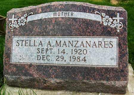 MANZANARES, STELLA A. - Boulder County, Colorado | STELLA A. MANZANARES - Colorado Gravestone Photos