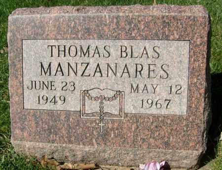 MANZANARES, THOMAS BLAS - Boulder County, Colorado | THOMAS BLAS MANZANARES - Colorado Gravestone Photos