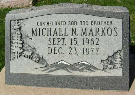 MARKOS, MICHAEL N. - Boulder County, Colorado | MICHAEL N. MARKOS - Colorado Gravestone Photos