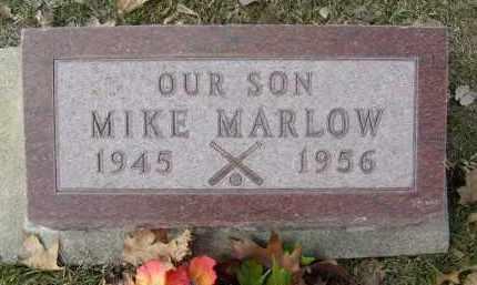 MARLOW, MIKE - Boulder County, Colorado | MIKE MARLOW - Colorado Gravestone Photos