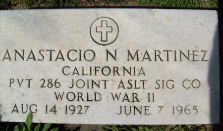MARTINEZ, ANASTACIO N. - Boulder County, Colorado   ANASTACIO N. MARTINEZ - Colorado Gravestone Photos