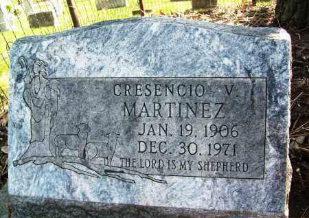 MARTINEZ, CRESENCIO V. - Boulder County, Colorado | CRESENCIO V. MARTINEZ - Colorado Gravestone Photos