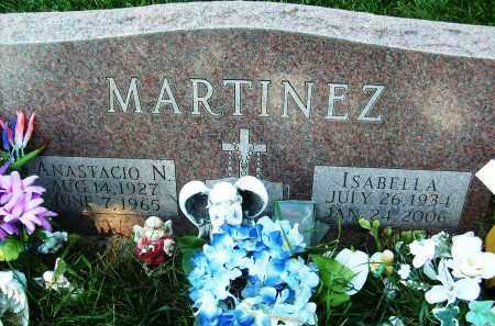 MARTINEZ, ISABELLA - Boulder County, Colorado | ISABELLA MARTINEZ - Colorado Gravestone Photos