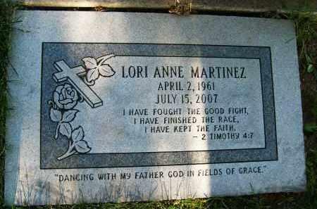 MARTINEZ, LORI ANNE - Boulder County, Colorado   LORI ANNE MARTINEZ - Colorado Gravestone Photos