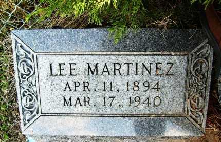 MARTINEZ, LEE - Boulder County, Colorado | LEE MARTINEZ - Colorado Gravestone Photos
