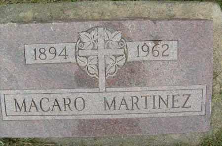 MARTINEZ, MACARO - Boulder County, Colorado   MACARO MARTINEZ - Colorado Gravestone Photos